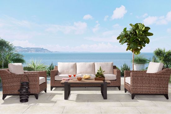 Picture of Manteo 4-Piece Patio Set