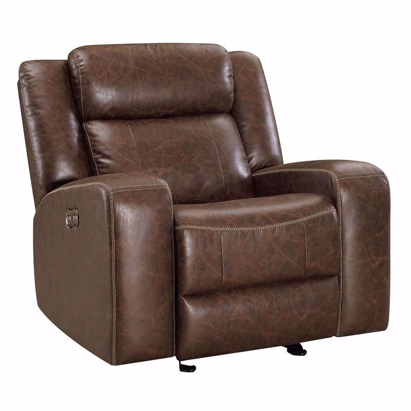 Picture of Atticus Mocha Glider Recliner