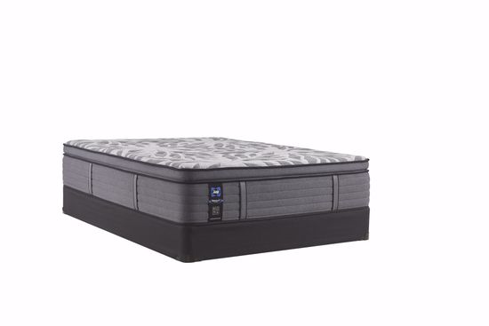 Picture of Sealy Posturepedic Plus Satisfied Plush Pillowtop King Mattress Set