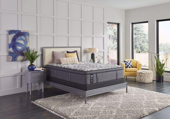 Picture of Sealy Posturepedic Plus Satisfied Plush Pillowtop King Mattress Set