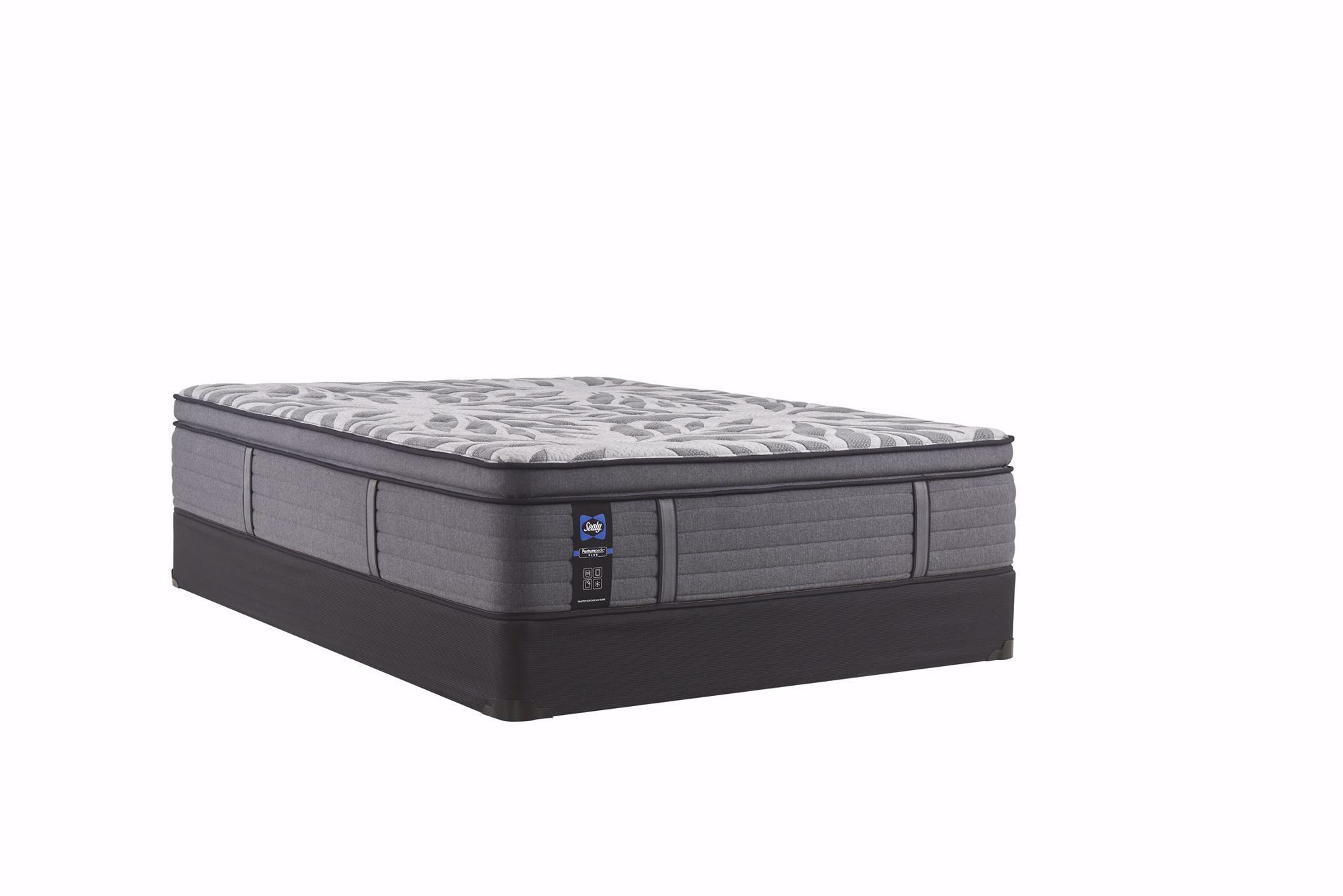 Picture of Sealy Posturepedic Plus Satisfied Plush Pillowtop Queen Mattress Set