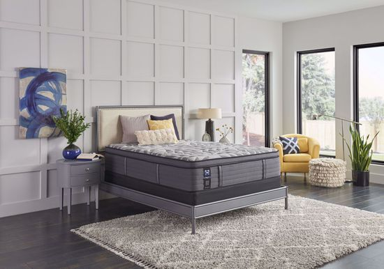 Picture of Sealy Posturepedic Plus Satisfied Plush Pillowtop Twin XL Mattress Set