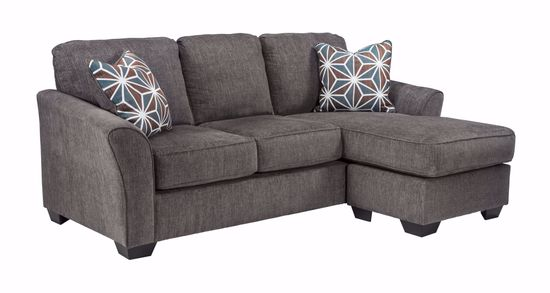 Picture of Brise Slate Sofa Chaise Queen Sleeper