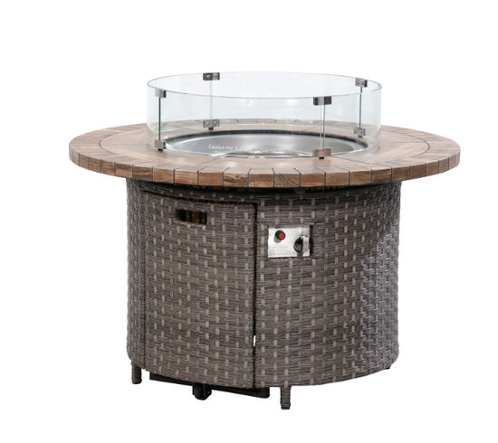 """Picture of Talbot 42"""" Round Firepit"""