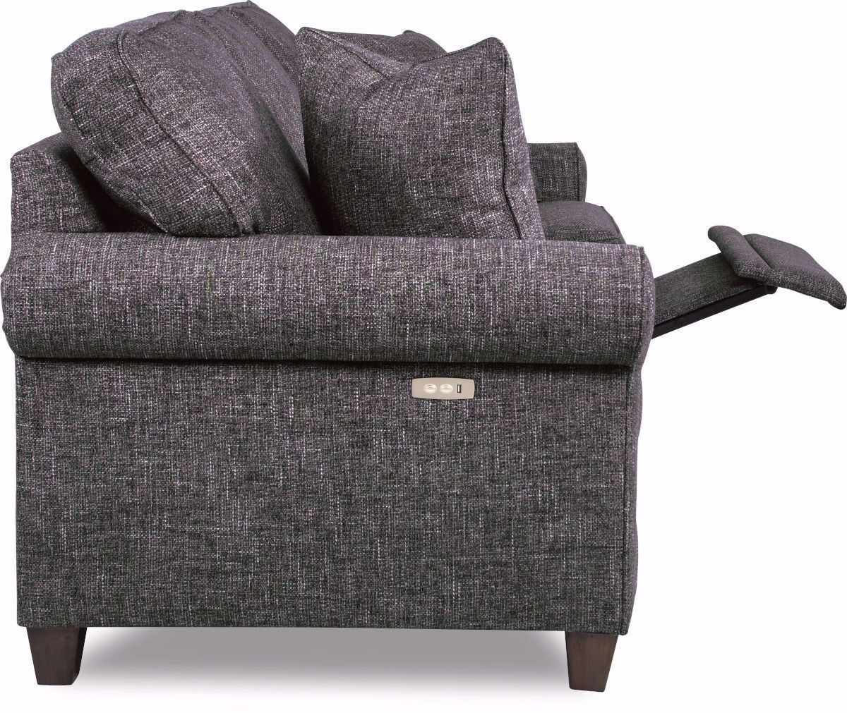 Picture of Colby Charcoal Power Recliner Sofa