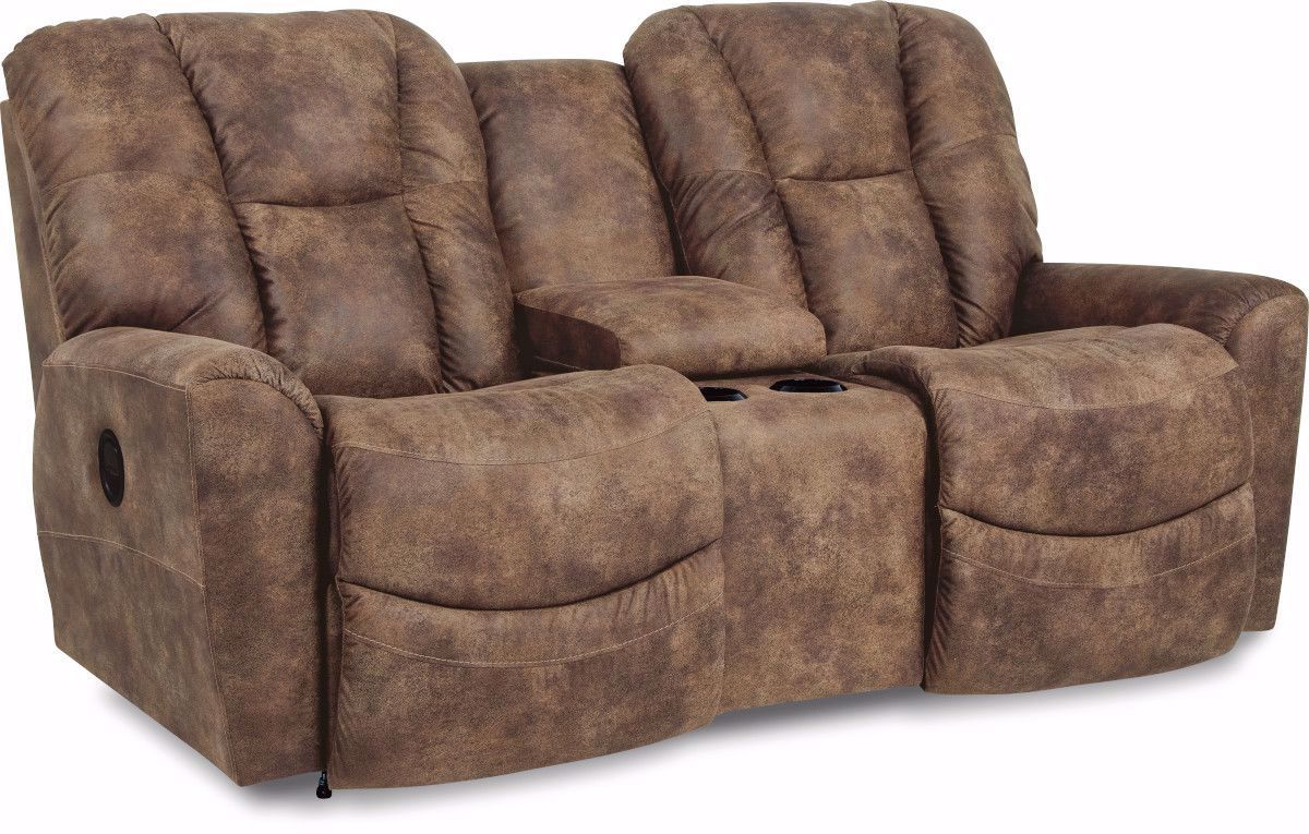 Picture of Rori Saddle Reclining Loveseat with Console