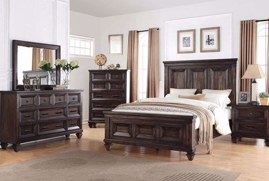 Picture of Sevilla Gray Queen Bed Set