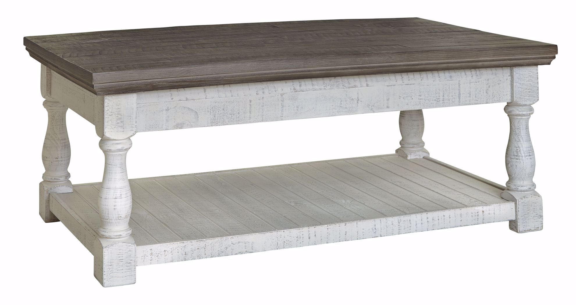 Picture of Havalance Grey White Lifttop Cocktail Table