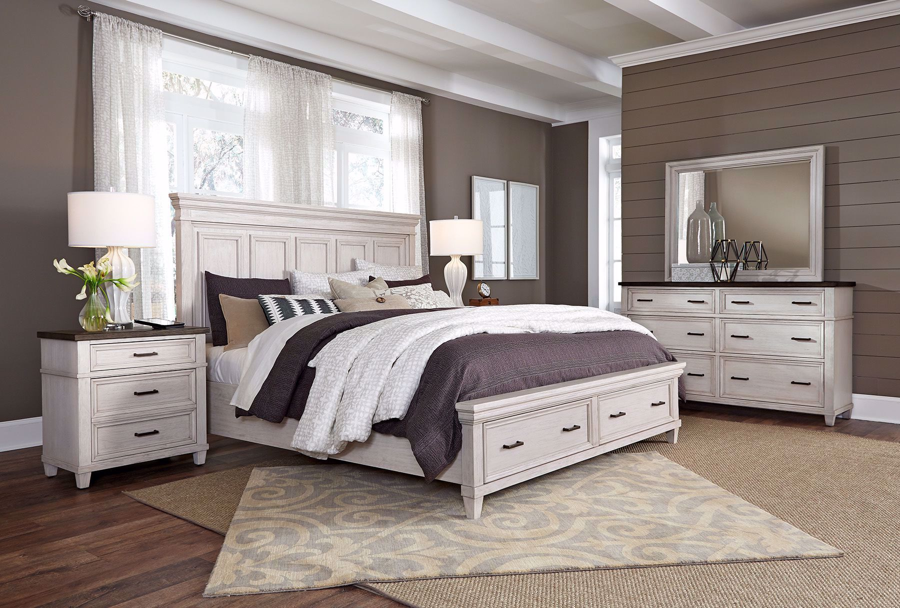 Picture of Caraway King Storage Room Set