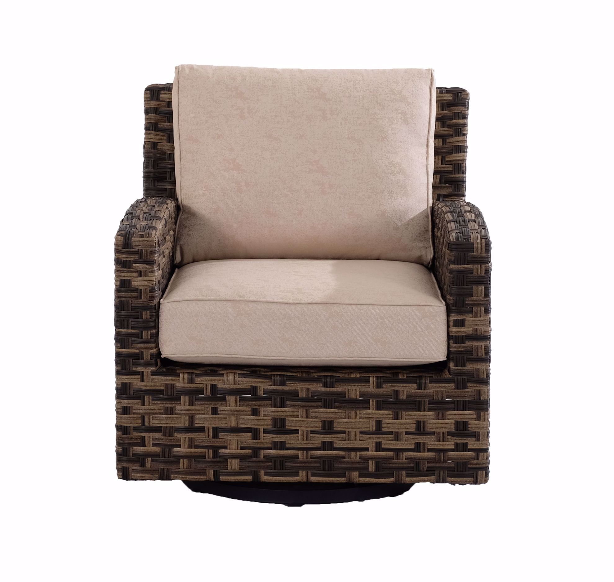 Picture of Sea Isle Firepit & 4 Swivel Glider Chairs
