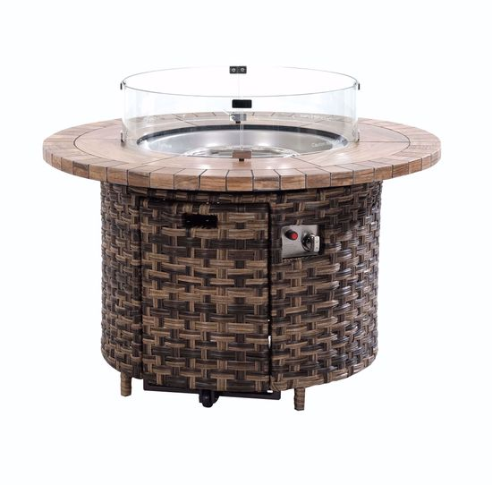 "Picture of Sea Isle 42"" Round Firepit"