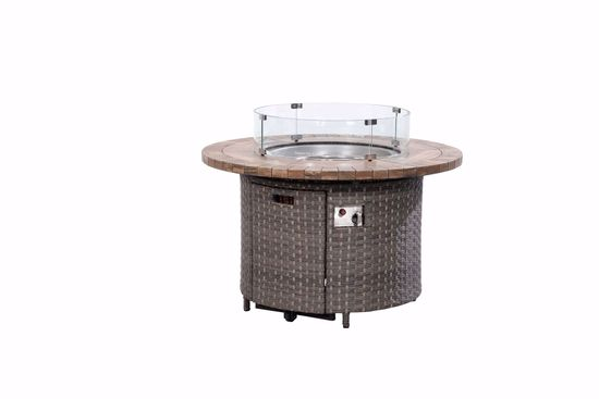 Picture of Talbot Firepit & 4 Swivel Chairs