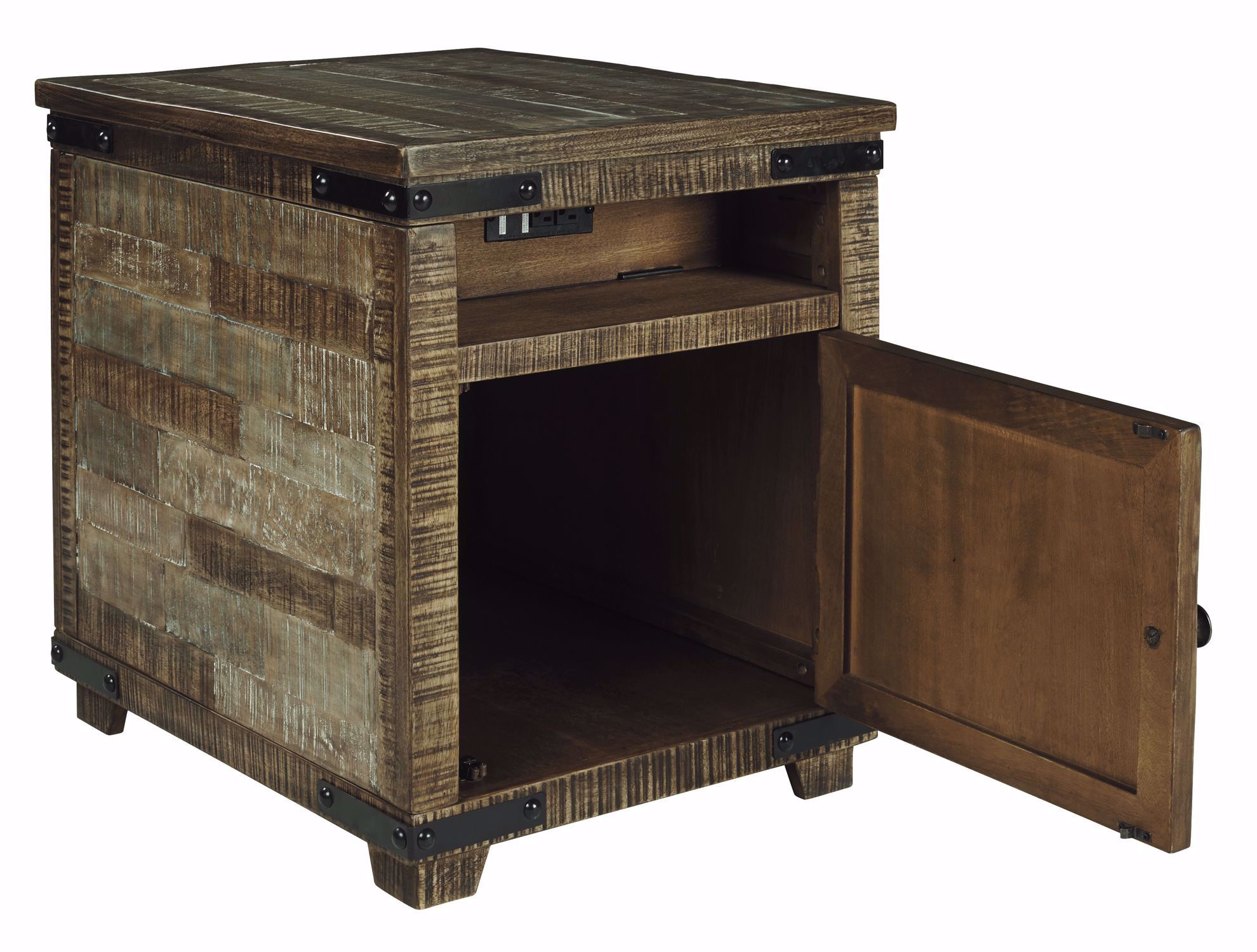 Picture of Cordayne Brown Chairside Table
