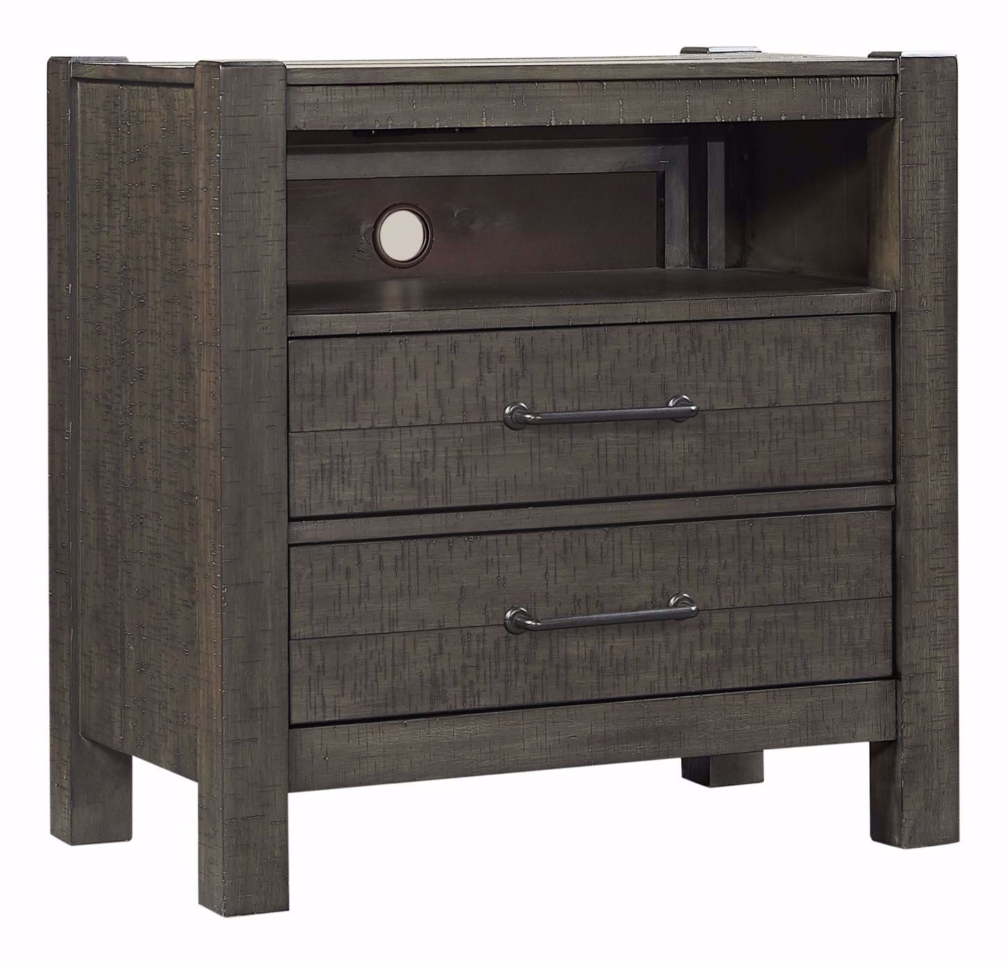 Picture of Mill Creek Two Drawer Nightstand