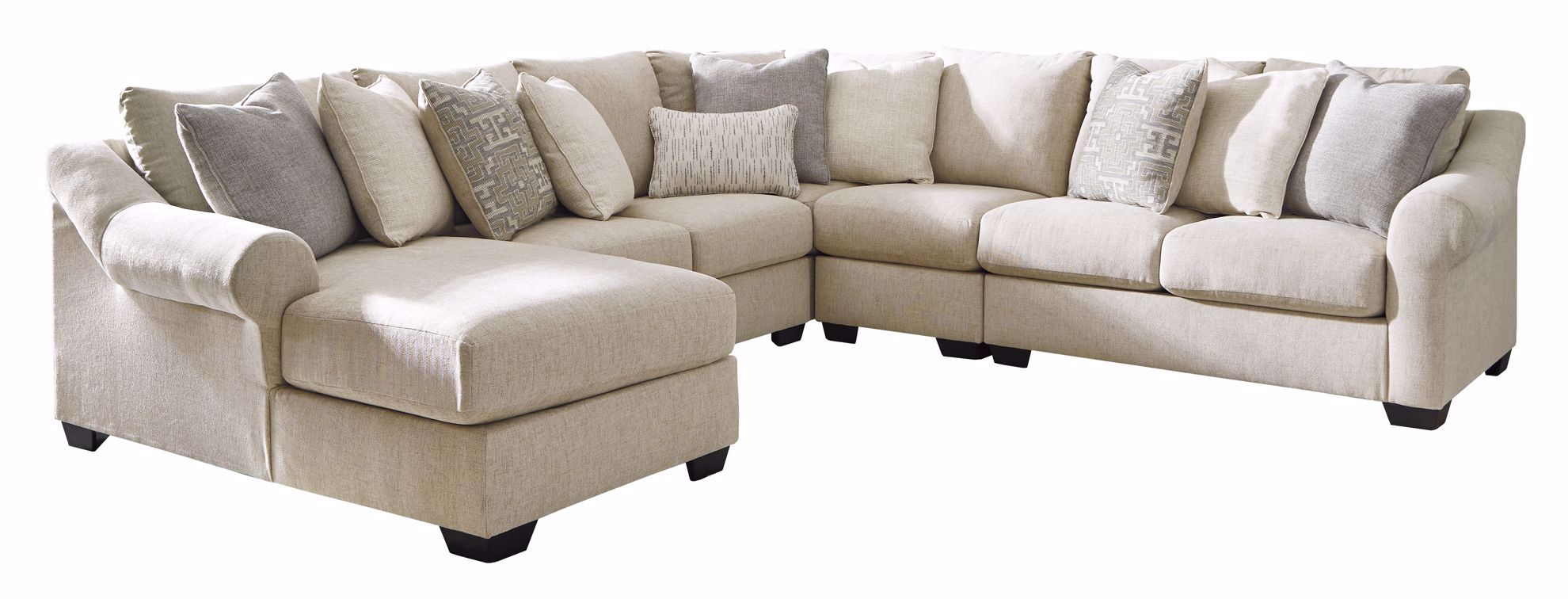 Picture of Carnaby Linen 4-Piece Sectional