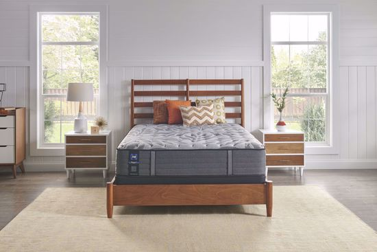 Picture of Sealy Posturepedic Plus Satisfied Plush Queen Mattress Set