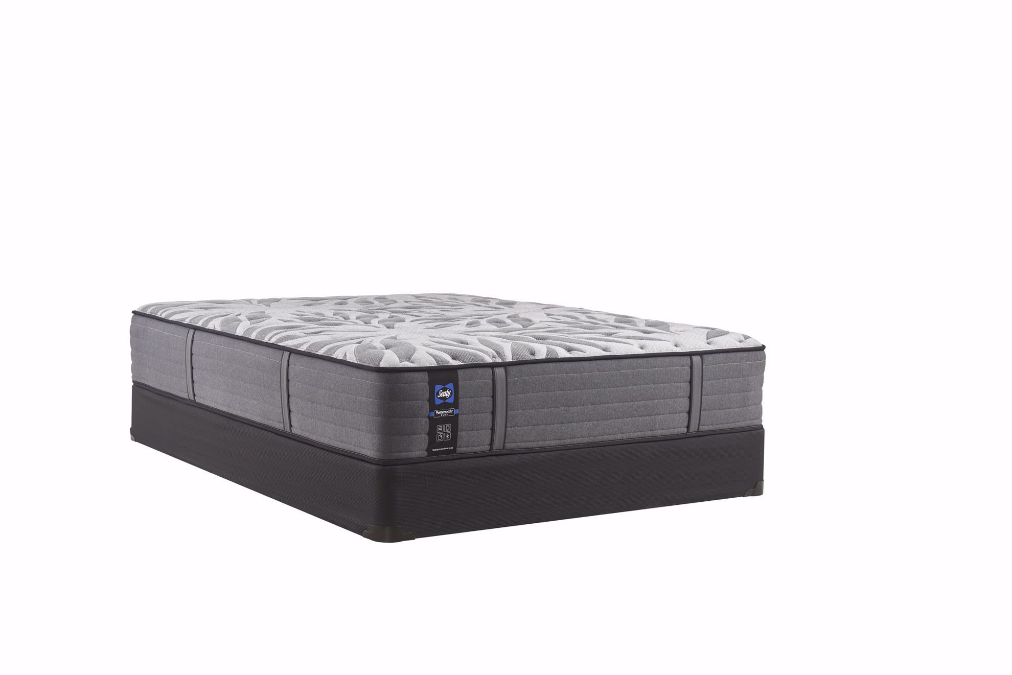 Picture of Sealy Posturepedic Plus Satisfied Plush Twin Mattress Set