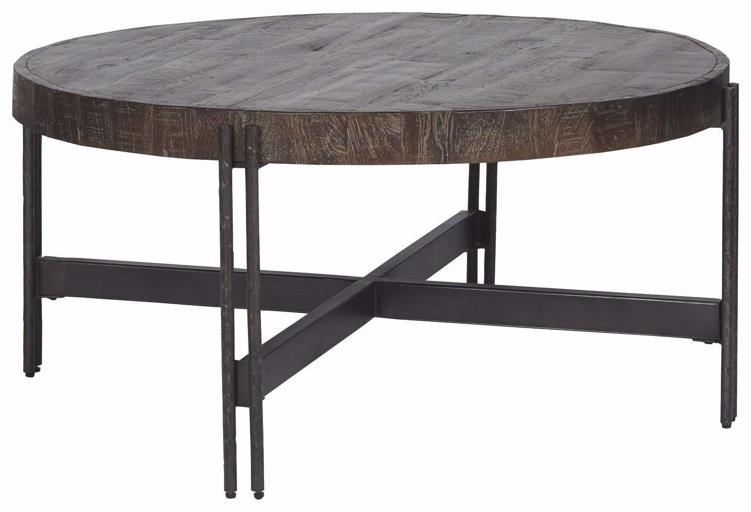 Picture of Jillenhurst Brown Round Cocktail Table