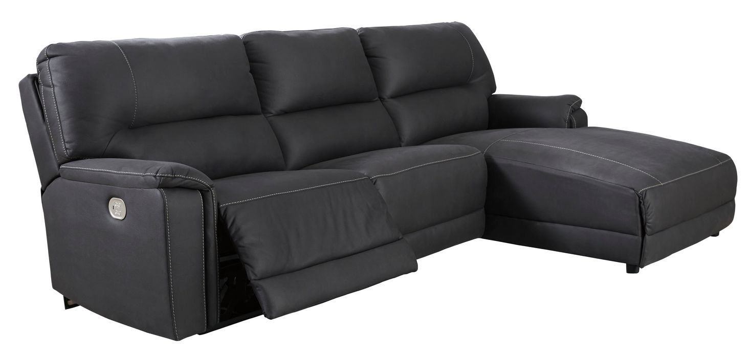 Picture of Henefer Midnight 3-Piece Sectional