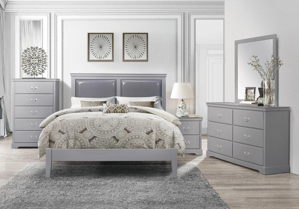 Picture of Lily Grey Queen Bedroom Set