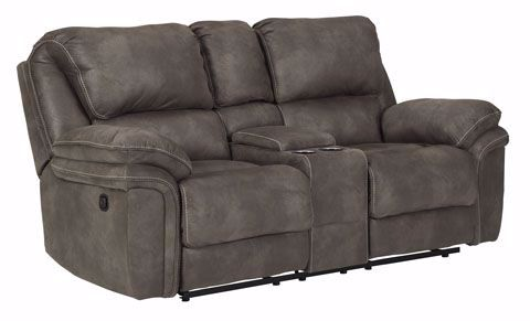 Picture of Trementon Graphite Loveseat with Console