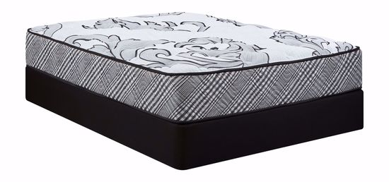 Picture of Restonic Darlington Plush King Mattress Set