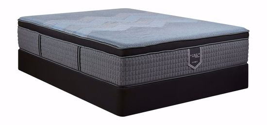 Picture of Restonic Endure Firm EuroTop Full Mattress Set