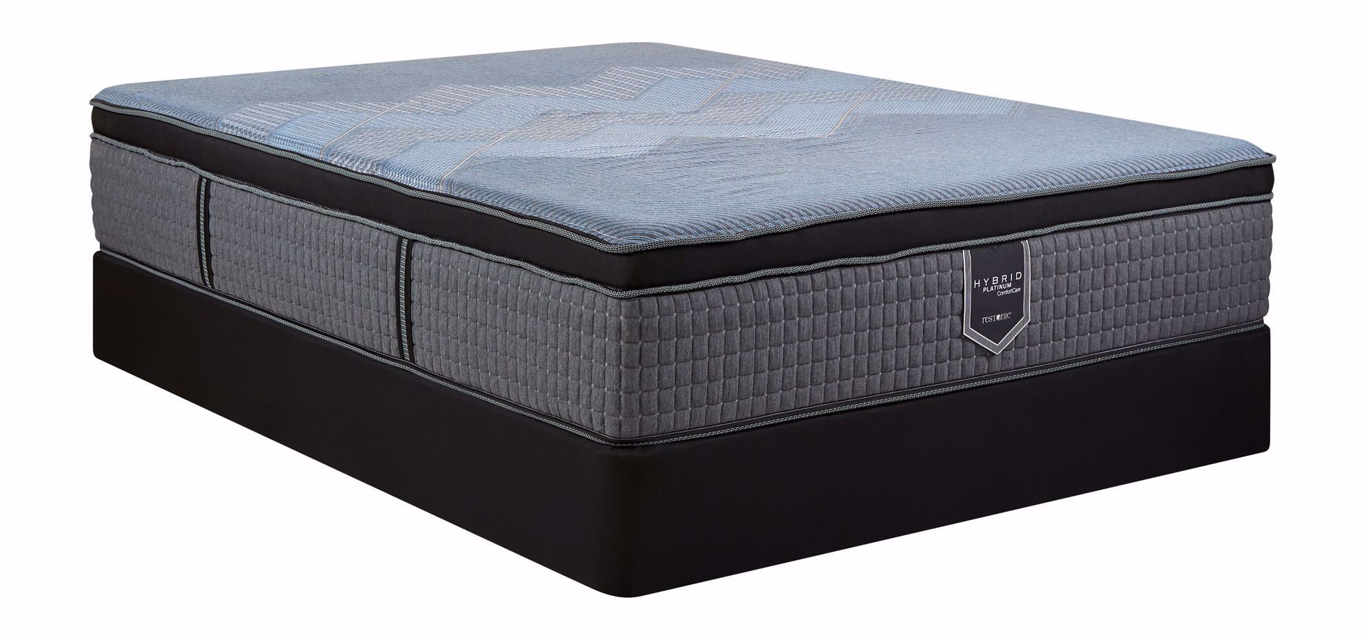 Picture of Restonic Endure Firm EuroTop King Mattress Set