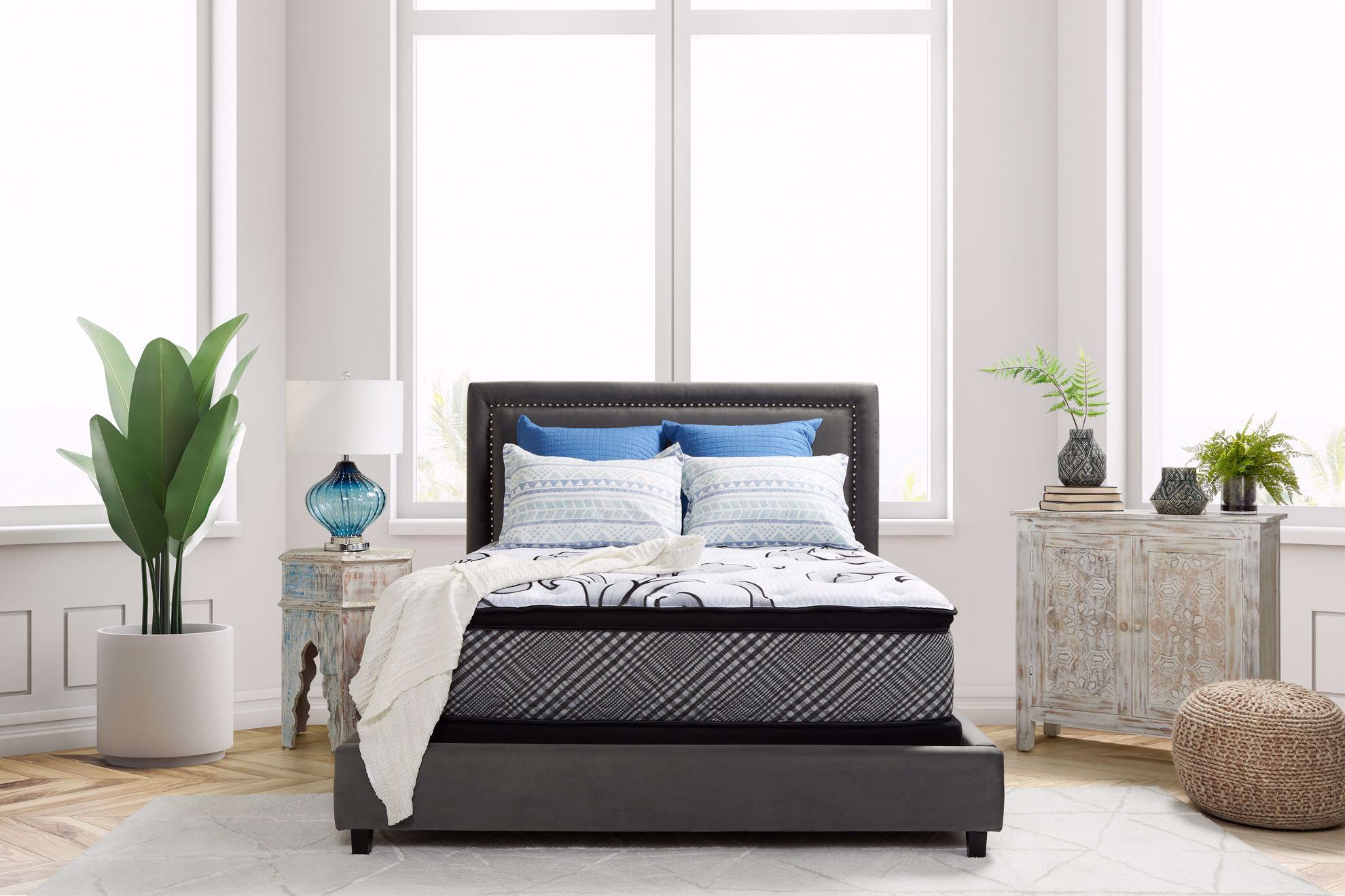 Picture of Restonic Darlington EuroTop Full Mattress