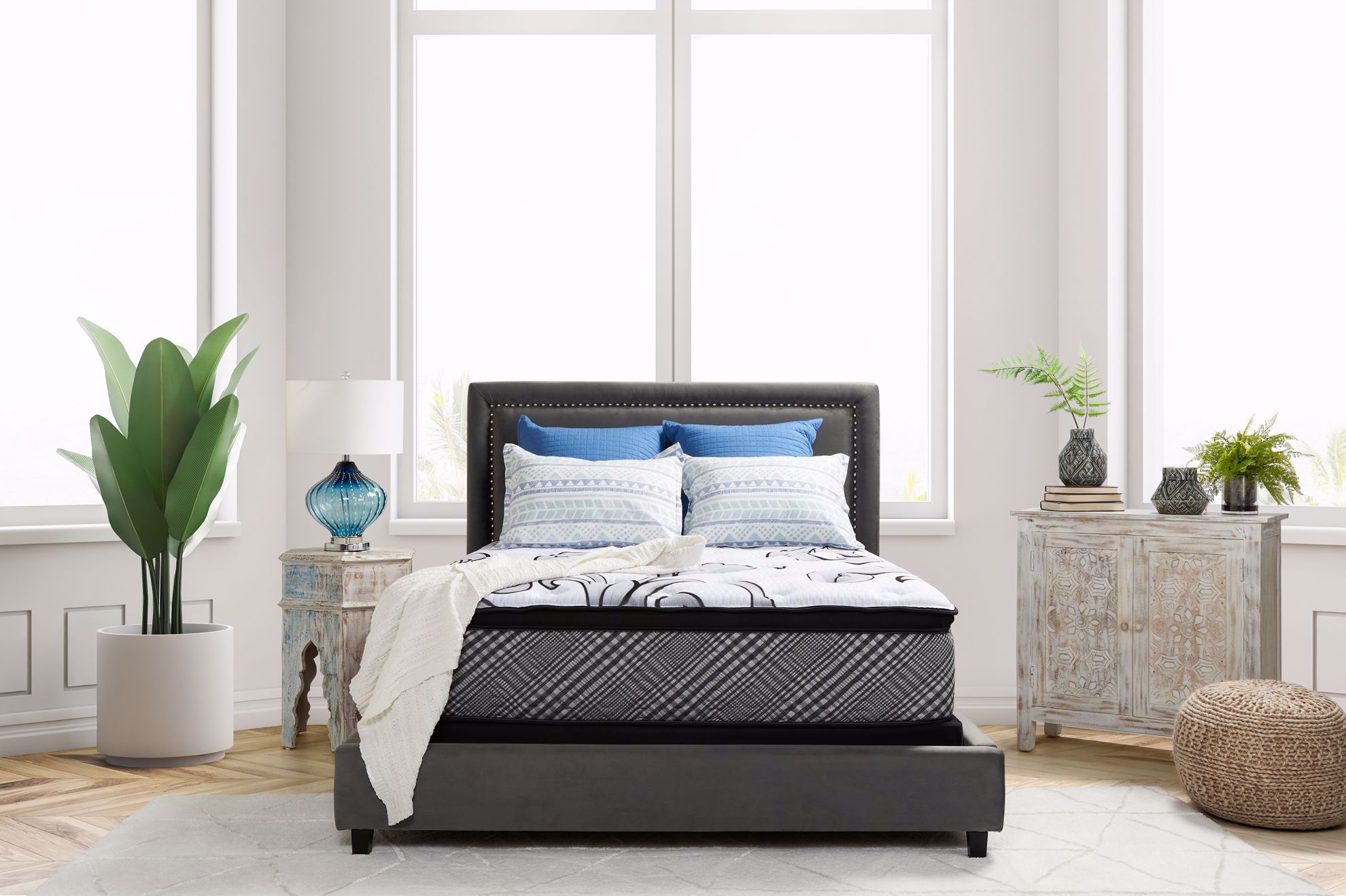 Picture of Restonic Darlington EuroTop Twin XL Mattress Set