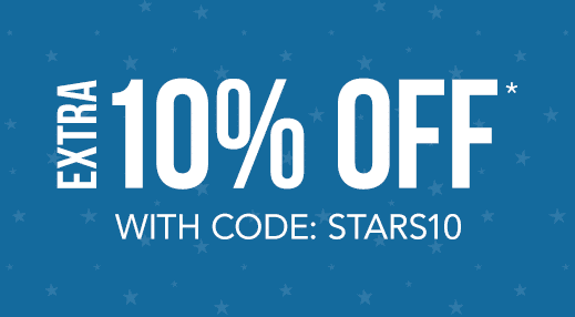 Extra 10% off with code: STARS10