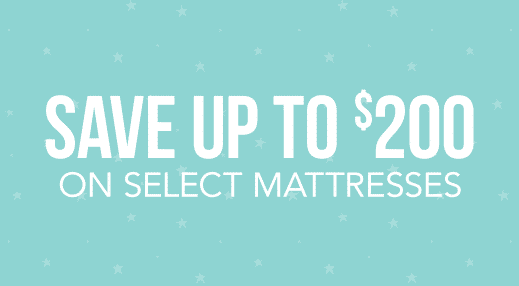 Save up to $200 on select Mattresses