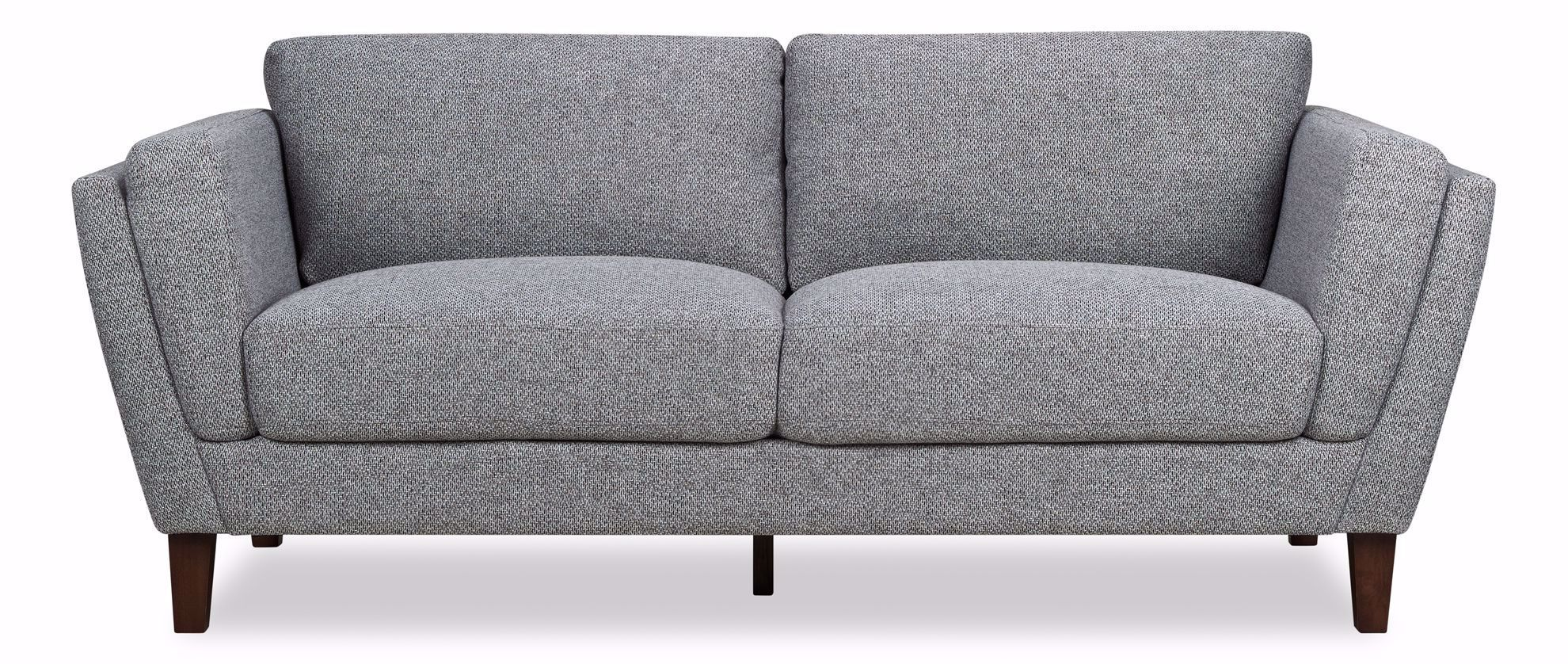 Picture of Hughes Grey Tweed Sofa