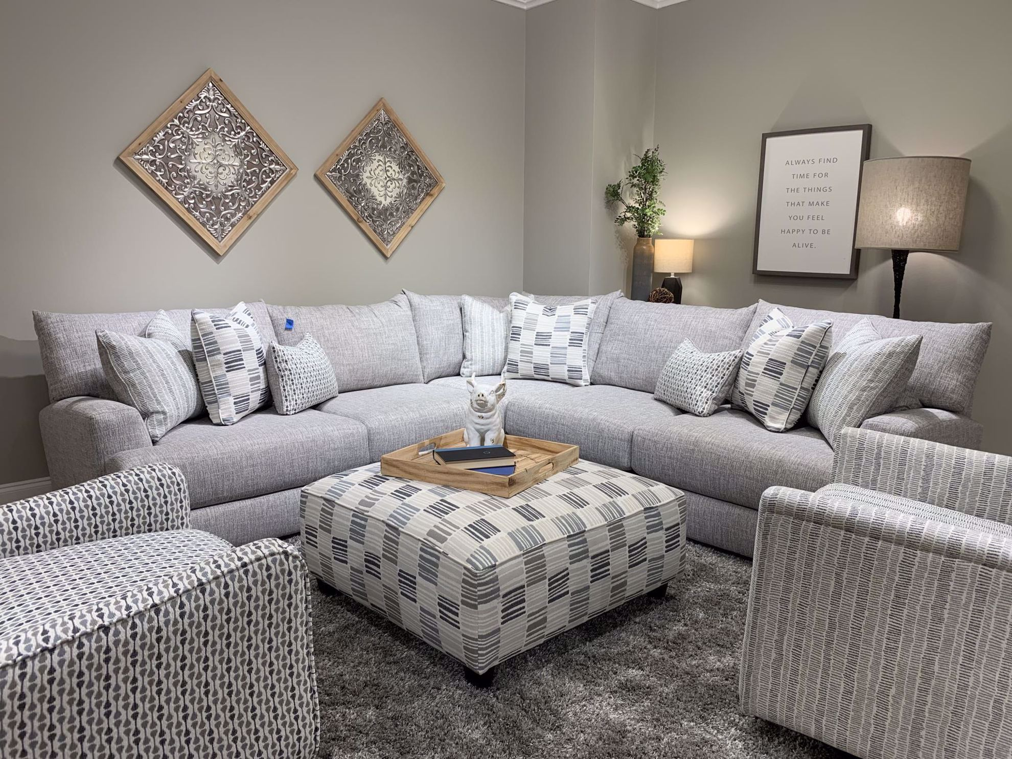 Picture of Entice Paver 3-Piece Sectional