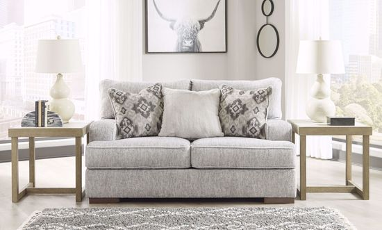 Picture of Mercado Pewter Loveseat