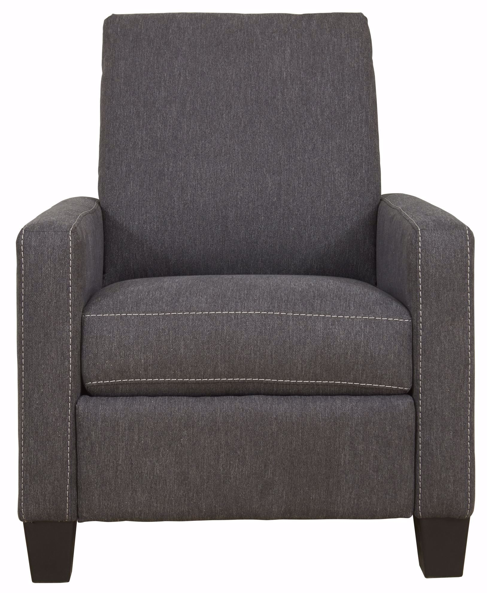 Picture of Dattner Charcoal Low Leg Recliner