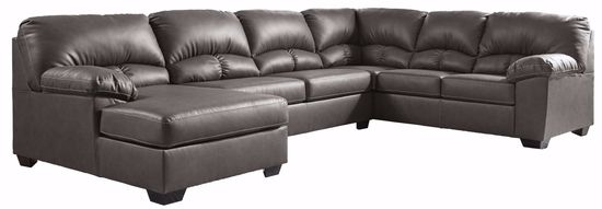 Picture of Aberton Gray 3-Piece Sectional