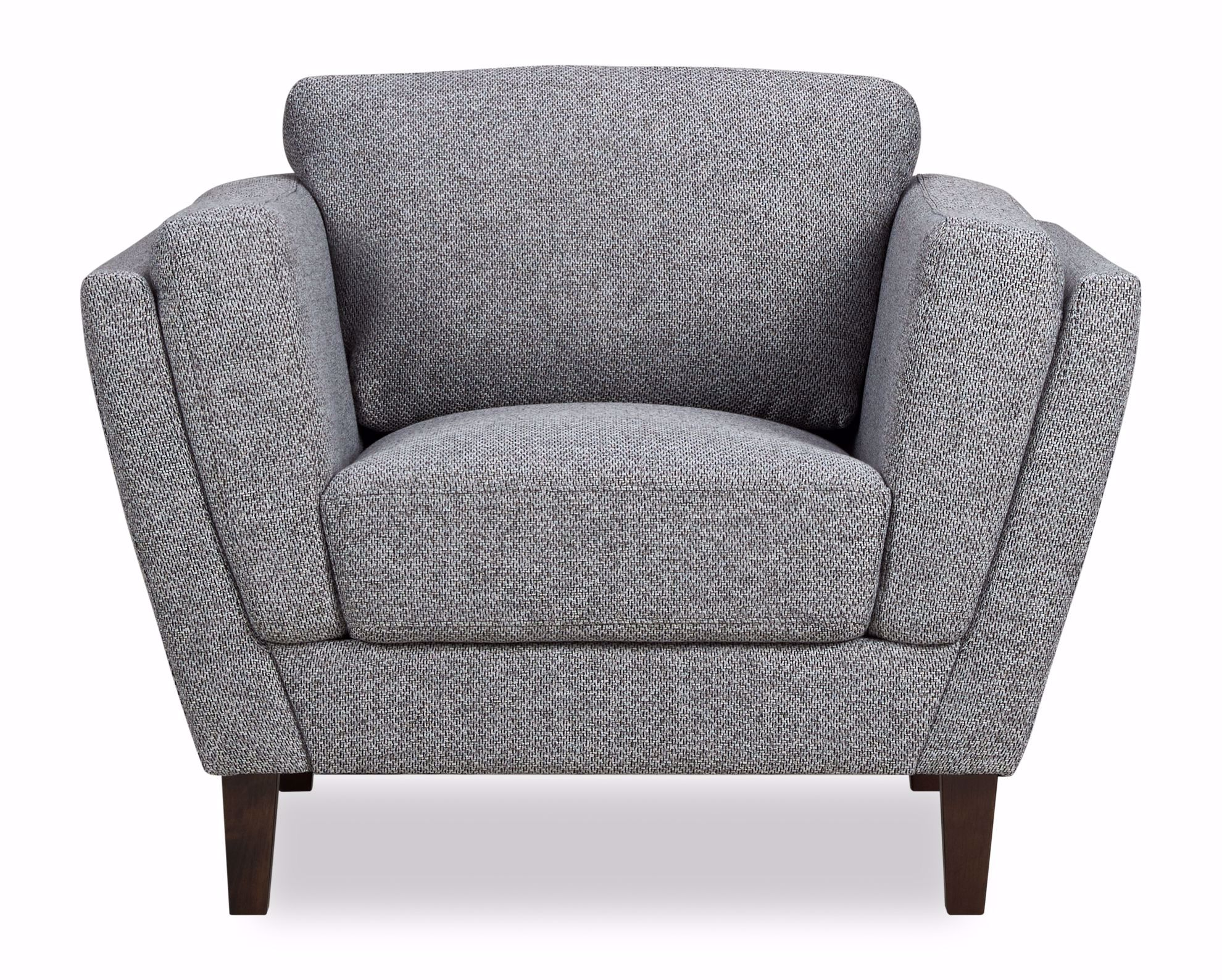 Picture of Hughes Grey Tweed Chair