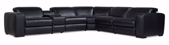 Picture of Colby Mist Black 6-Piece Power Sectional