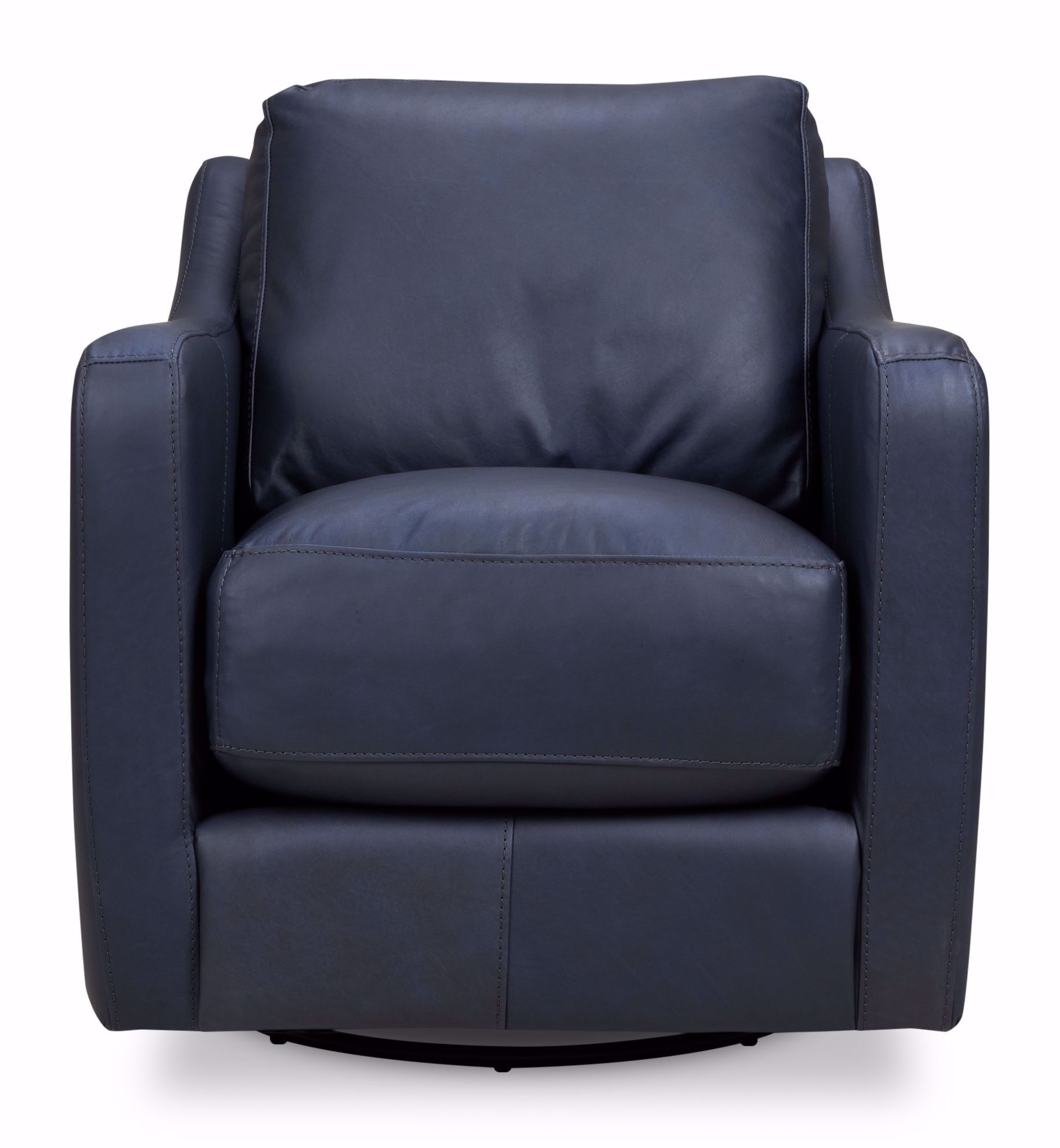 Picture of Chelsea Blue-Gray Swivel Chair