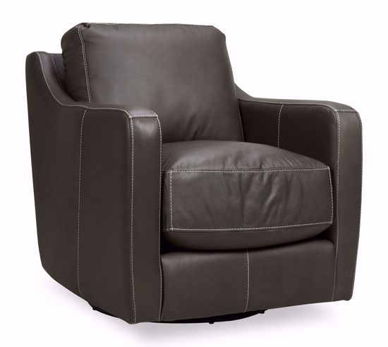 Picture of Chelsea Dark-Gray Swivel Chair