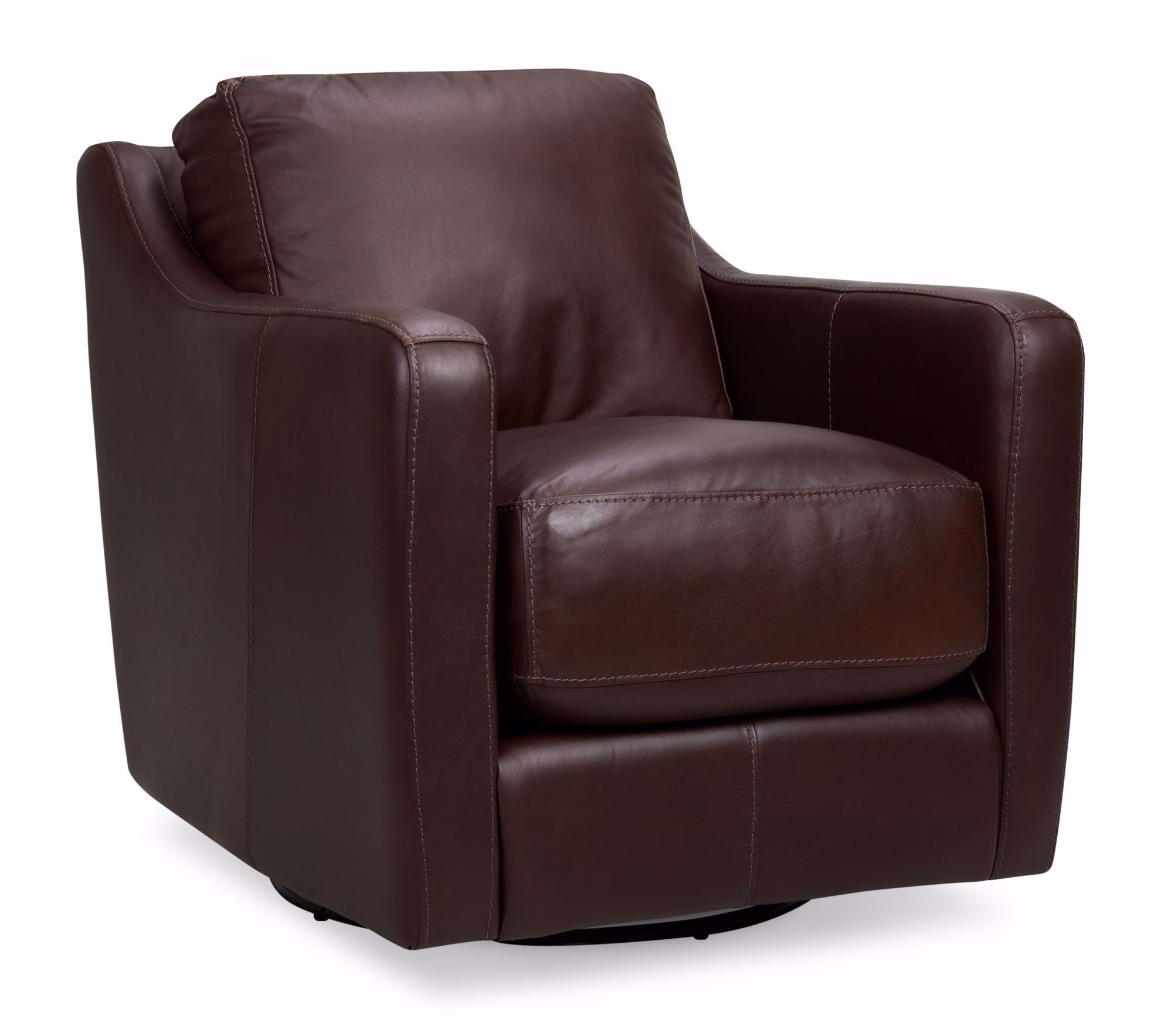 Picture of Chelsea Dark-Brown Swivel Chair