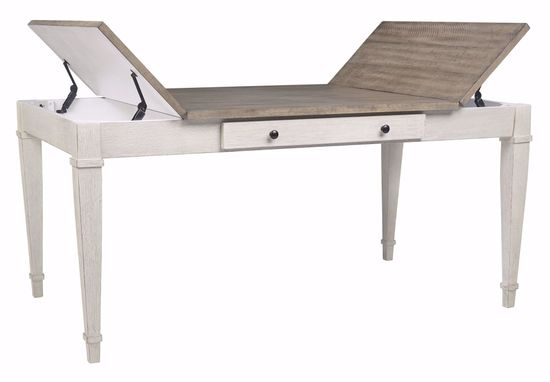 Picture of Skempton Rectangle Storage Dining Table