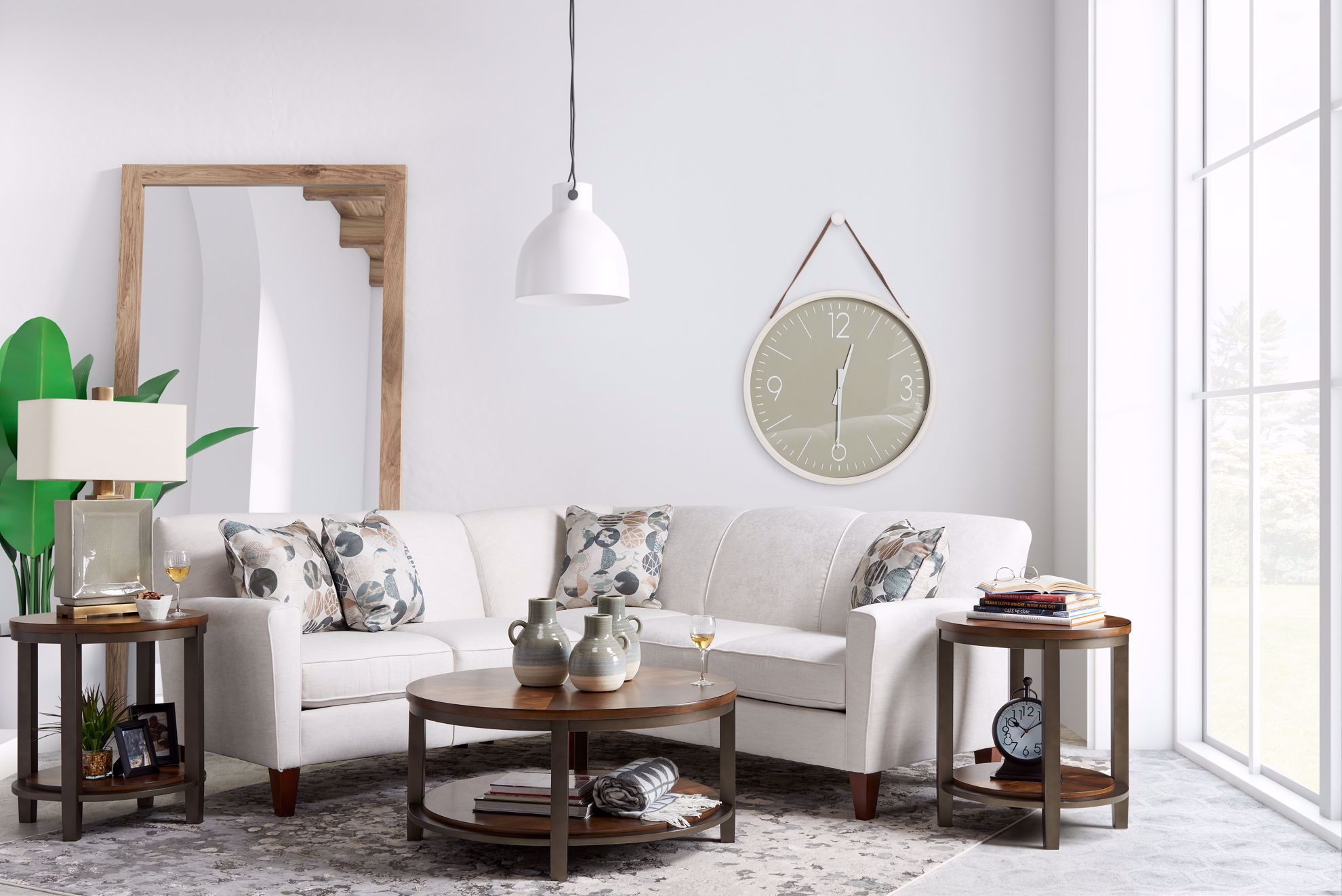 Picture of Culpepper Snow Two Piece Sectional