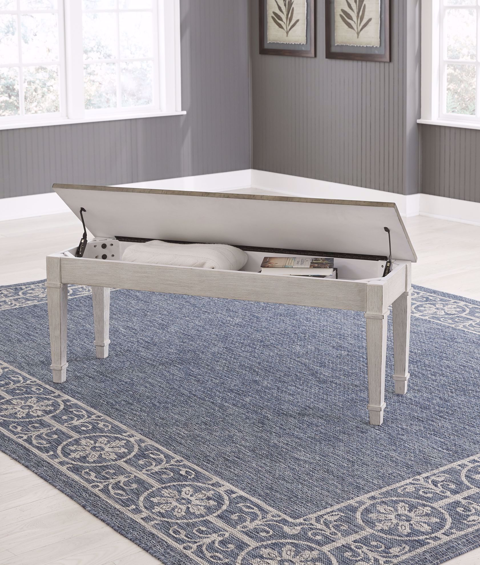 Picture of Skempton Backless Storage Bench