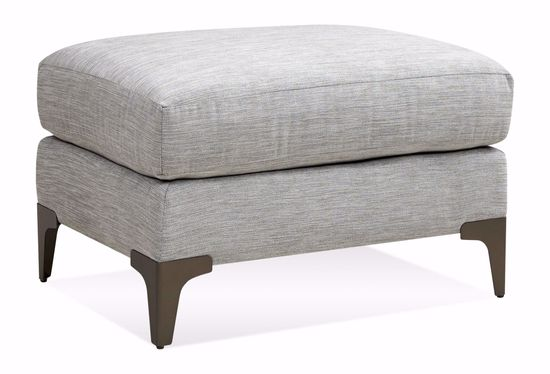 Picture of Gibson Blue Sea Ottoman