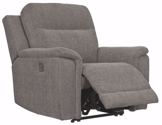 Picture of Mouttrie Smoke Power Reclining