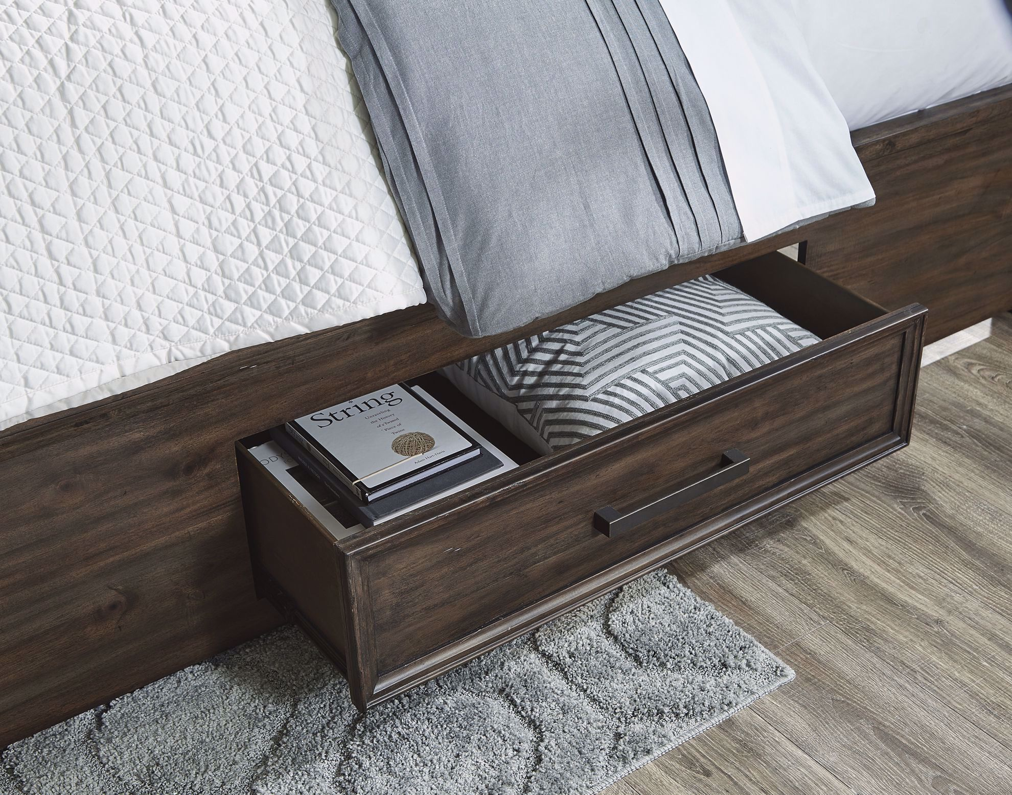 Picture of Johurst King Storage Bed