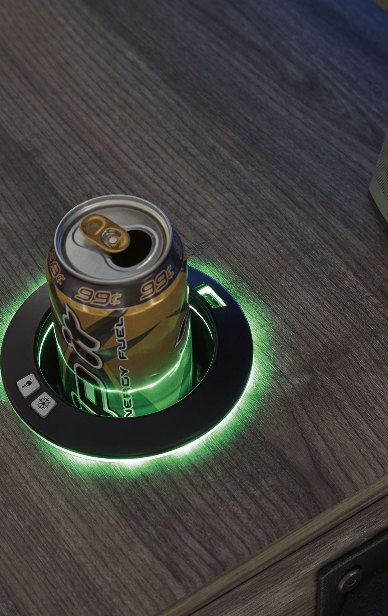 Picture of Barolli Gaming Desk with Can Cooler