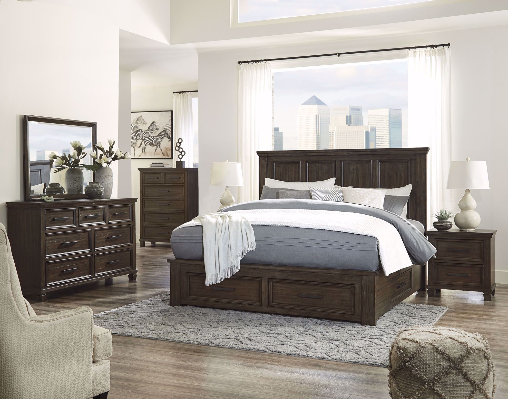 Picture of Johurst Storage Queen Bed